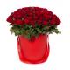 """Букет в коробке """"101 красная роза"""""""