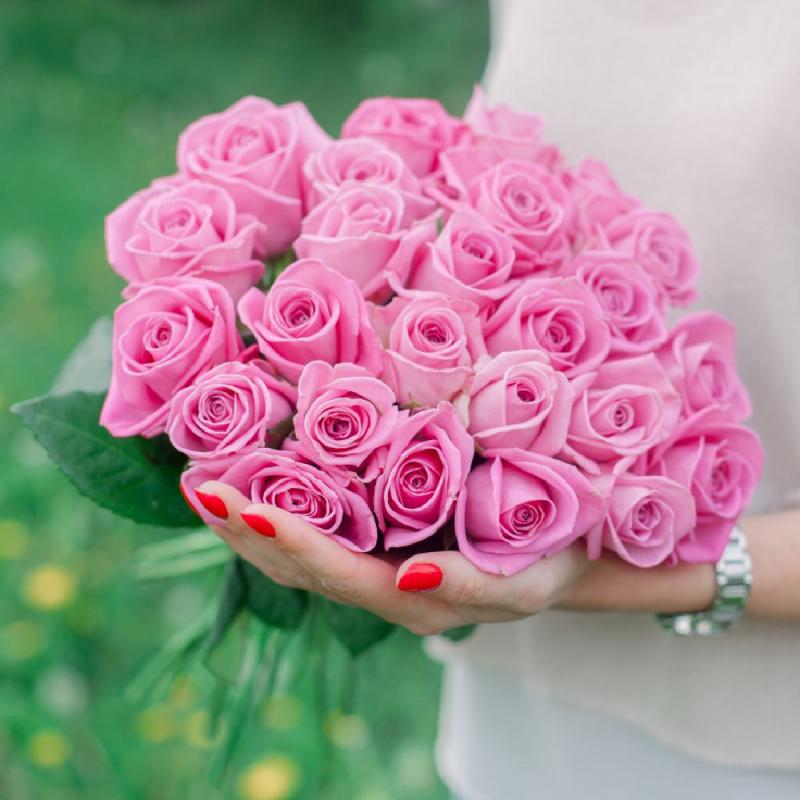 """Букет """"25 розовых роз"""""""