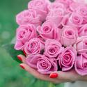 """Букет """"25 розовых роз"""" купить"""