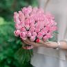 Букет из 51 розовой розы 40 см (Кения)