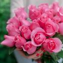 """Букет """"25 розовых роз"""" (Эквадор) заказать"""