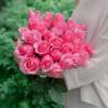 Букет из 25 розовых роз Topaz (Эквадор)