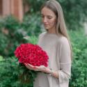 "Букет ""51 красная роза"" заказать"