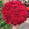 Букет из 331 красной розы 60 см (Россия)