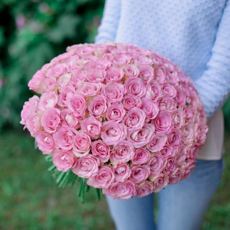 "Букет ""101 розовая роза"""