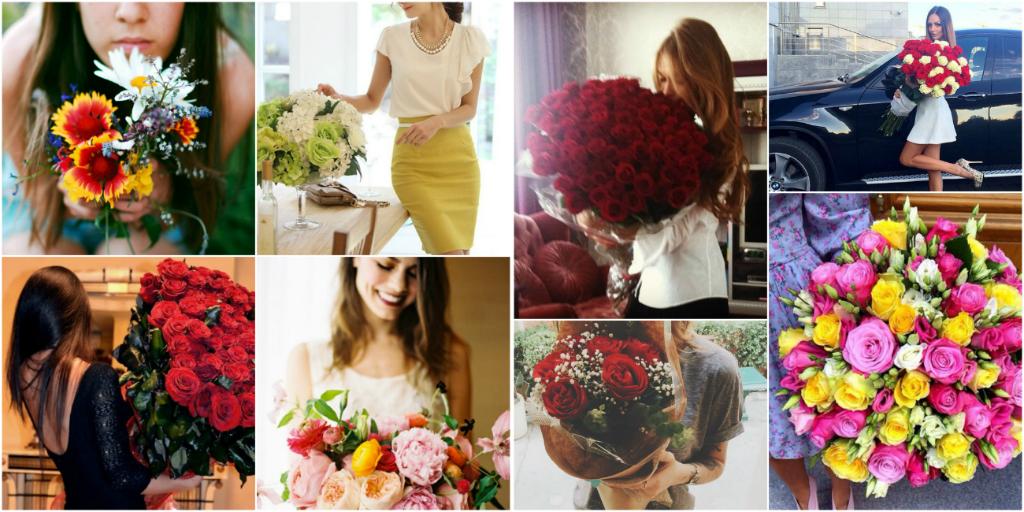 Как подобрать букет цветов под событие